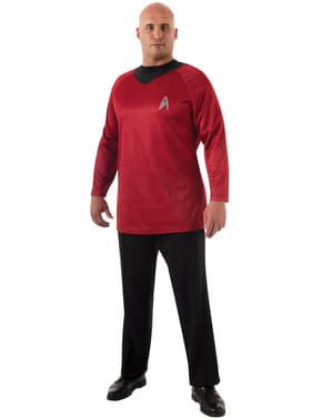 Costume da Scotty Star Trek per uomo taglie forti