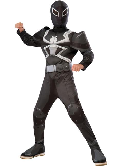 Agent Venom deluxe Kostuum voor jongens