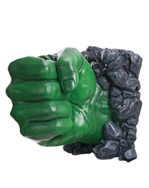 Decoração de parede mão de Hulk