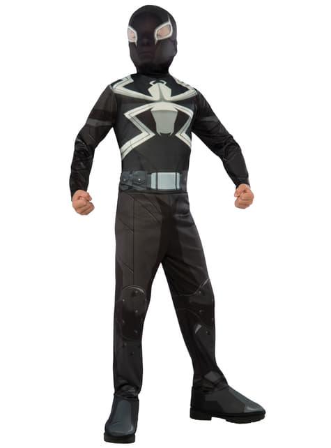 Agent Venom Kostuum voor jongens