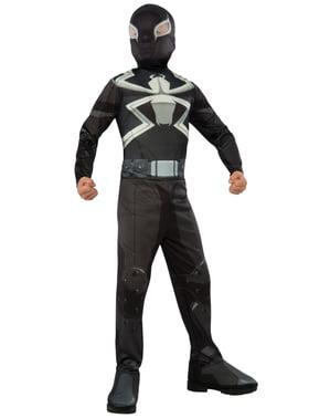 Fiú Venom Ügynök jelmez