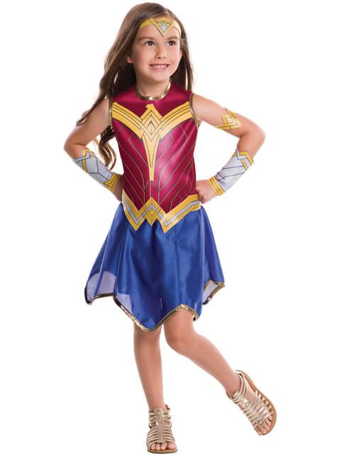 Disfraz de Wonder Woman Batman vs Superman para niña