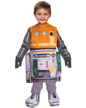 Disfraz de Chopper Star Wars Rebels para niño