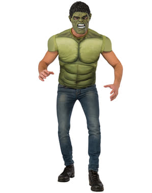 Men's Muscular Hulk Costume Kit