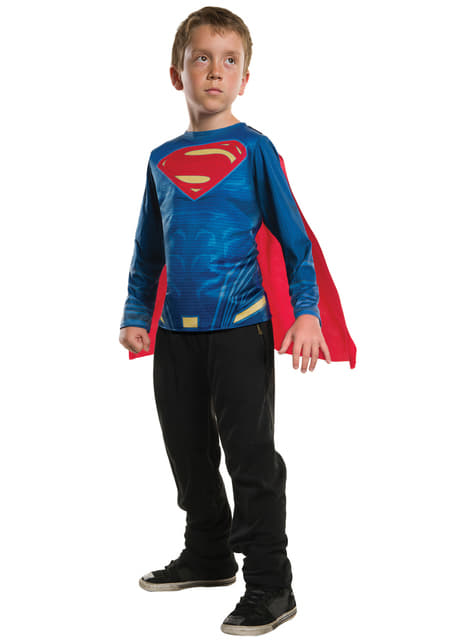 Camiseta de Superman Batman vs Superman para niño