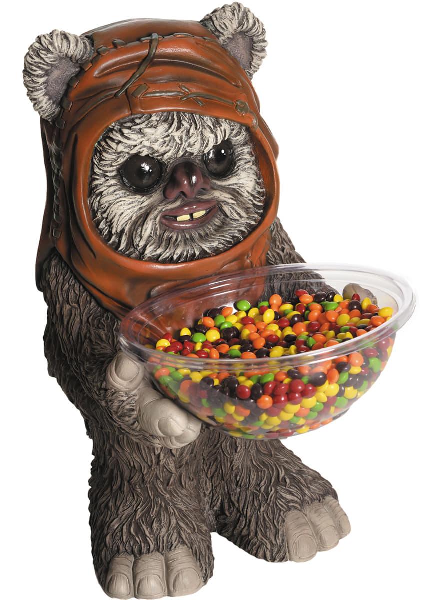 Portacaramelos De Ewok Star Wars Para Fiestas Funidelia