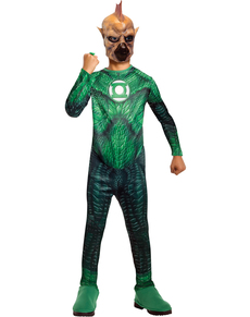 Disfraz de Tomar Re Linterna Verde para niño