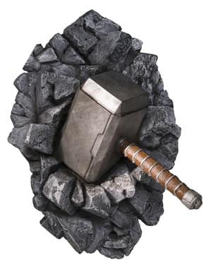 Muurdecoratie hamer van Thor