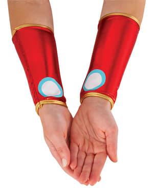 Guantes de Iron Man para mujer