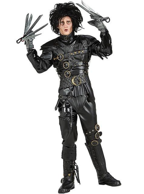 Kostým pro dospělé střihoruký Edward deluxe