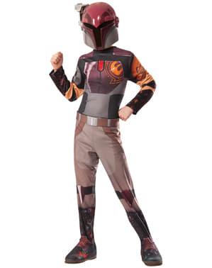 Costum Sabine Wren Star Wars Rebels pentru fată