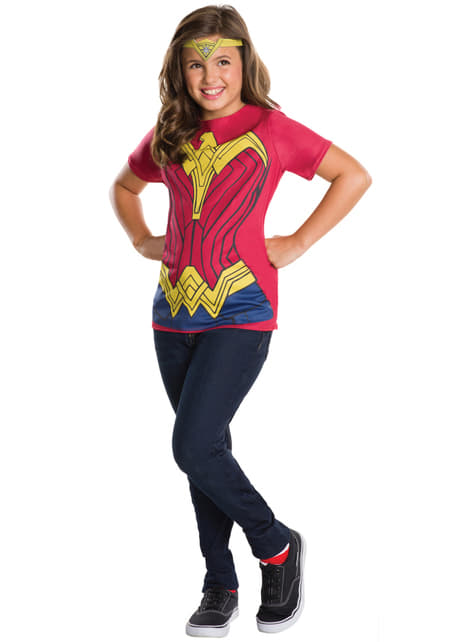 Girl's Wonder Woman: Batman v Superman Costume Kit