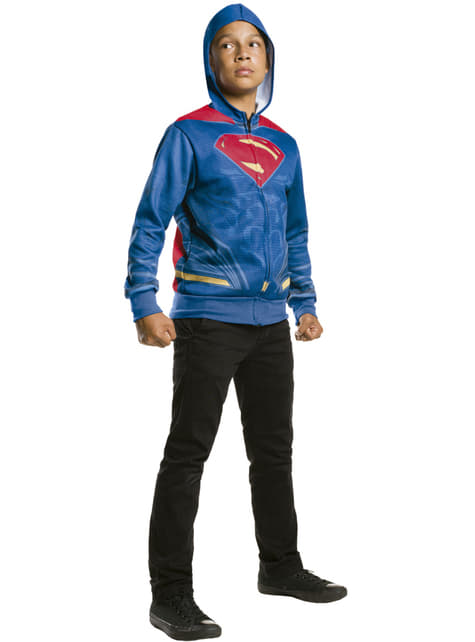Chaqueta de Superman Batman vs Superman para niño