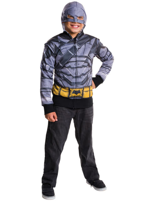 Chaqueta de Batman armadura Batman vs Superman para niño