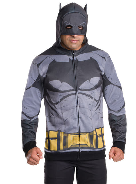 Chaqueta de Batman Batman vs Superman para hombre