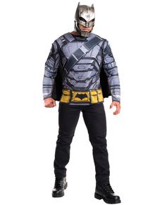 Kit disfraz de Batman armadura Batman vs Superman para hombre