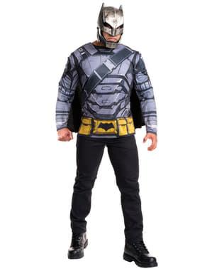 Kit fato de Batman armadura, Batman v Super-Homem para homem
