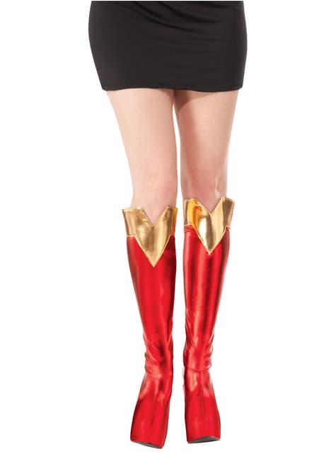 Cubrebotas de Supergirl para mujer