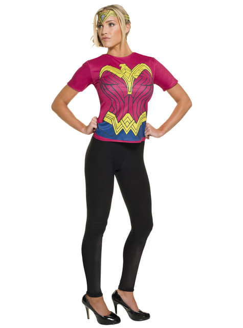 Kit disfraz de Wonder Woman Batman vs Superman para mujer