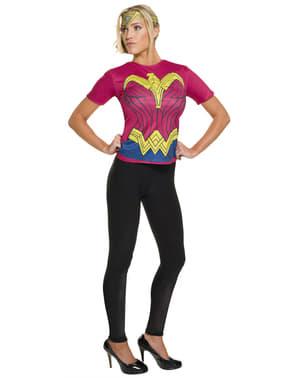 Kit fato de Mulher-Maravilha, Batman v Super-Homem para mulher