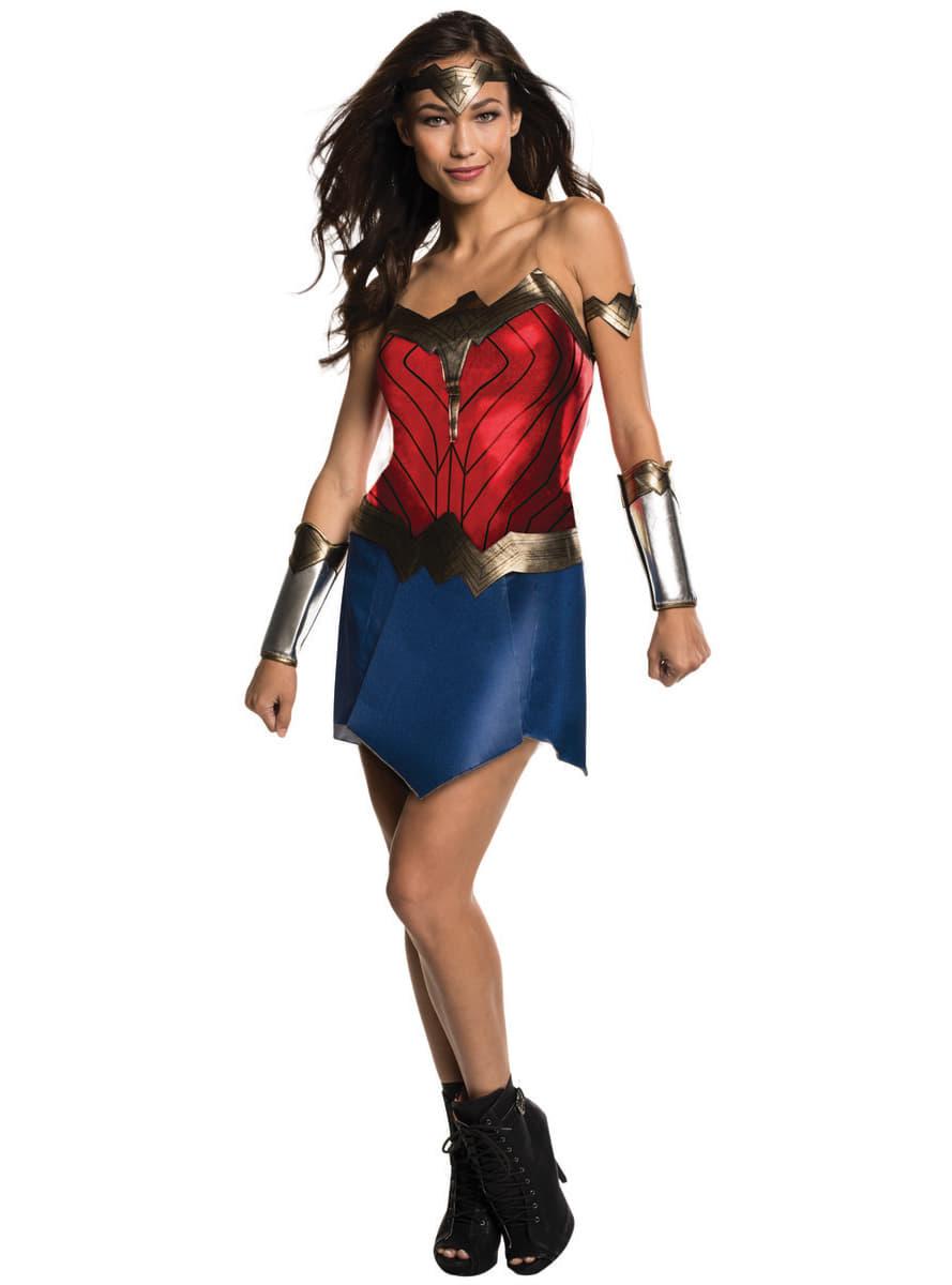wonder woman kost m f r damen aus batman vs superman funidelia. Black Bedroom Furniture Sets. Home Design Ideas