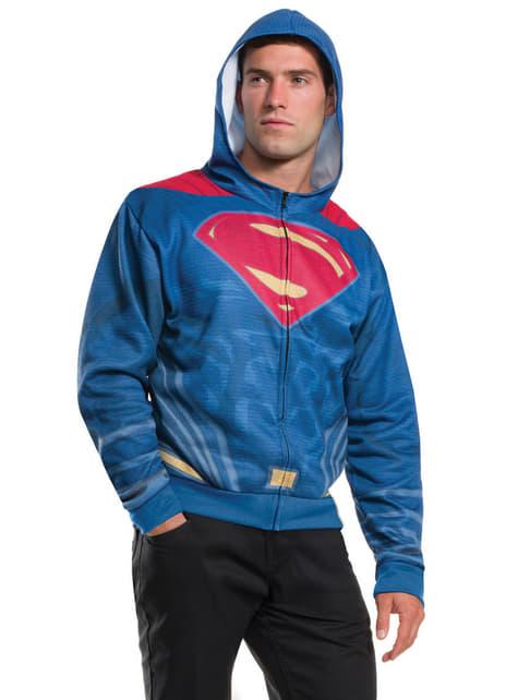Chaqueta de Superman Batman vs Superman para hombre