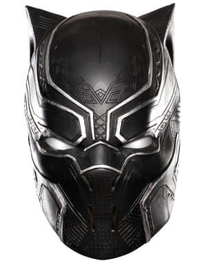 Мъжка черна пантера Капитан Америка Гражданска война в пълна маска