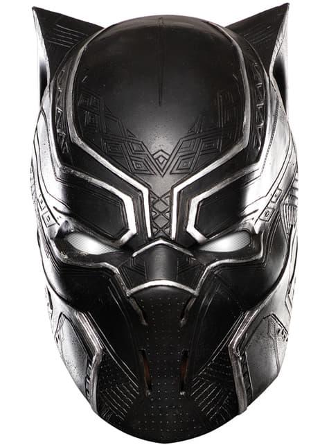 Chlapecká plná maska Captain America Občanská válka Black Panther