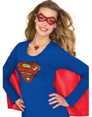 Colar de Supergirl para mulher