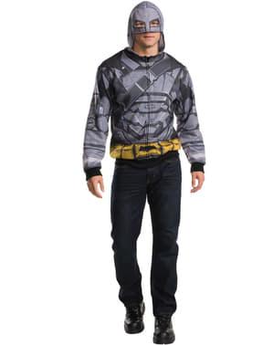 Pánská mikina s potiskem zbroje Batman (Batman vs. Superman)