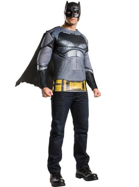 Kit disfraz de Batman Batman vs Superman deluxe para hombre