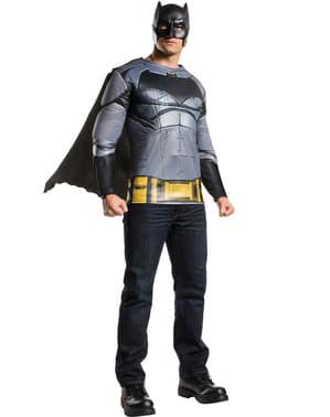 メンズデラックスバットマン:バットマンvスーパーマンコスチュームキット