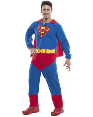 Fato de Super-Homem onesie para homem