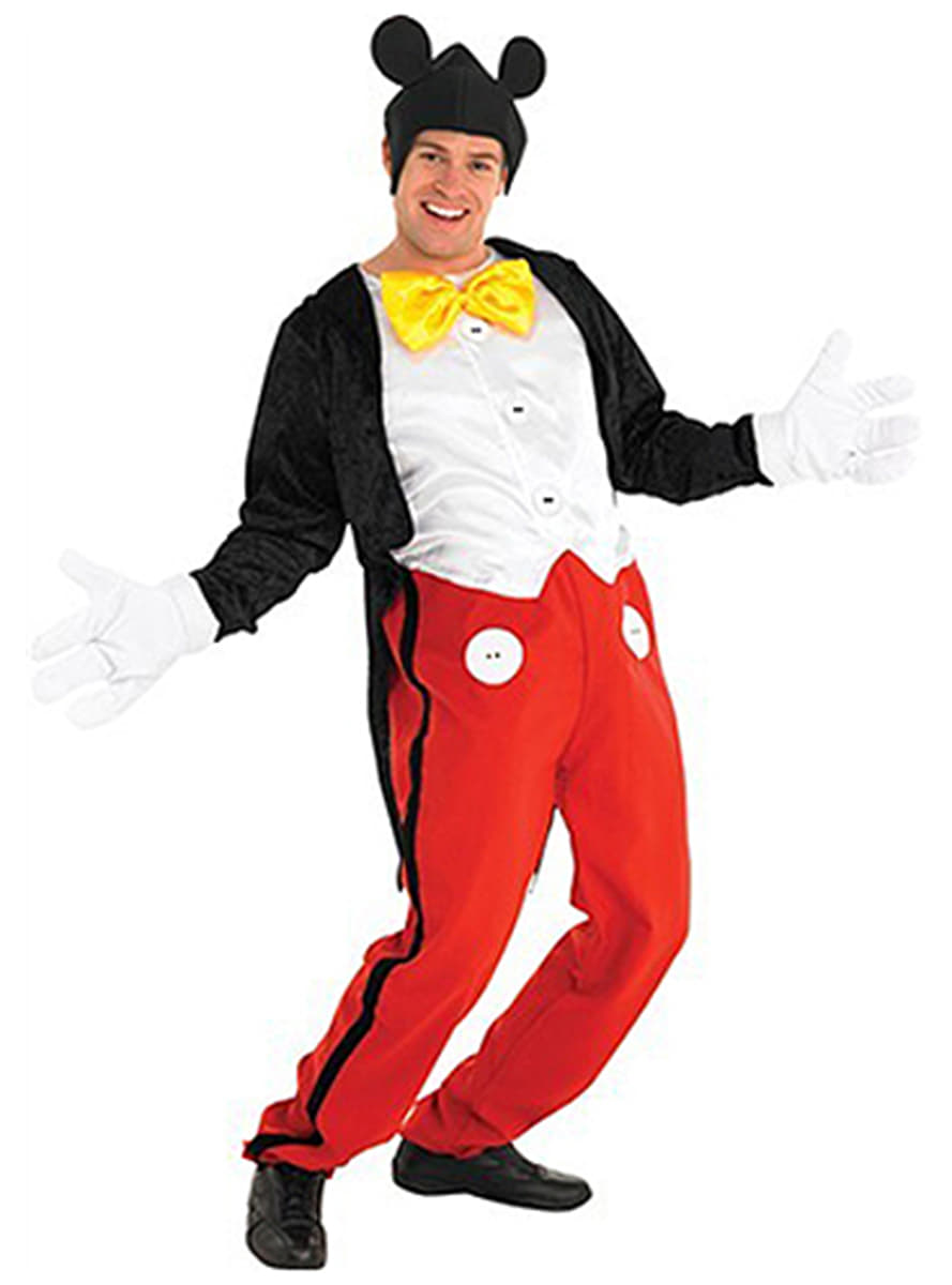 Mickey Mouse Adult Costume. Detalle Zoom  sc 1 st  Funidelia & Mickey Mouse Adult Costume. Express delivery | Funidelia