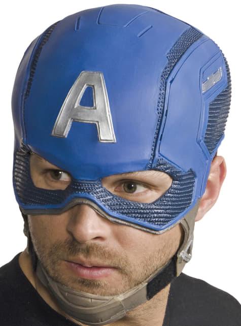 Máscara completa de Capitão América: Guerra Civil para homem