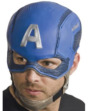 Kompletna maska Kapitan Ameryka Wojna bohaterów męska