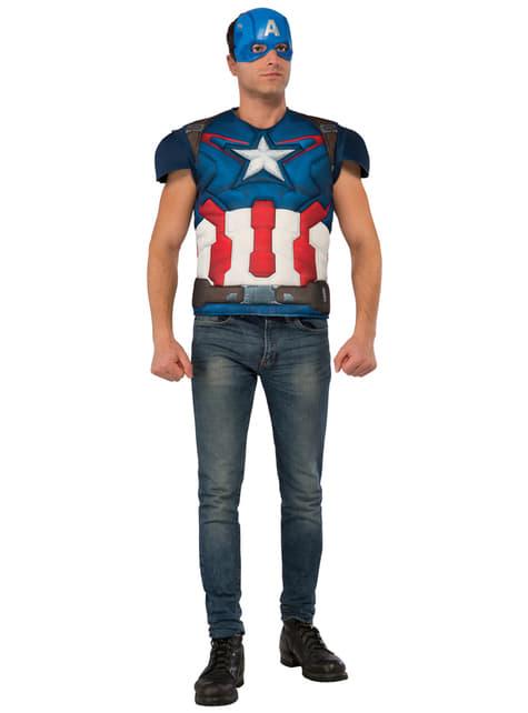 Zestaw Strój Kapitan Ameryka męski