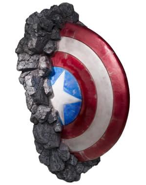 Decoración de pared escudo de Capitán América