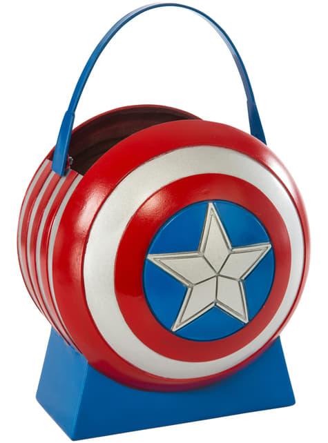 Cubo de Capitán América infantil