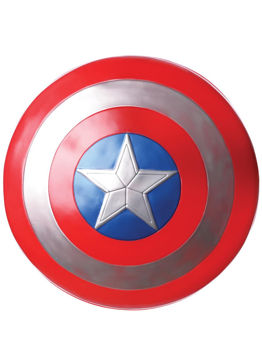 Childrens Captain America The Winter Soldier Retro Shield