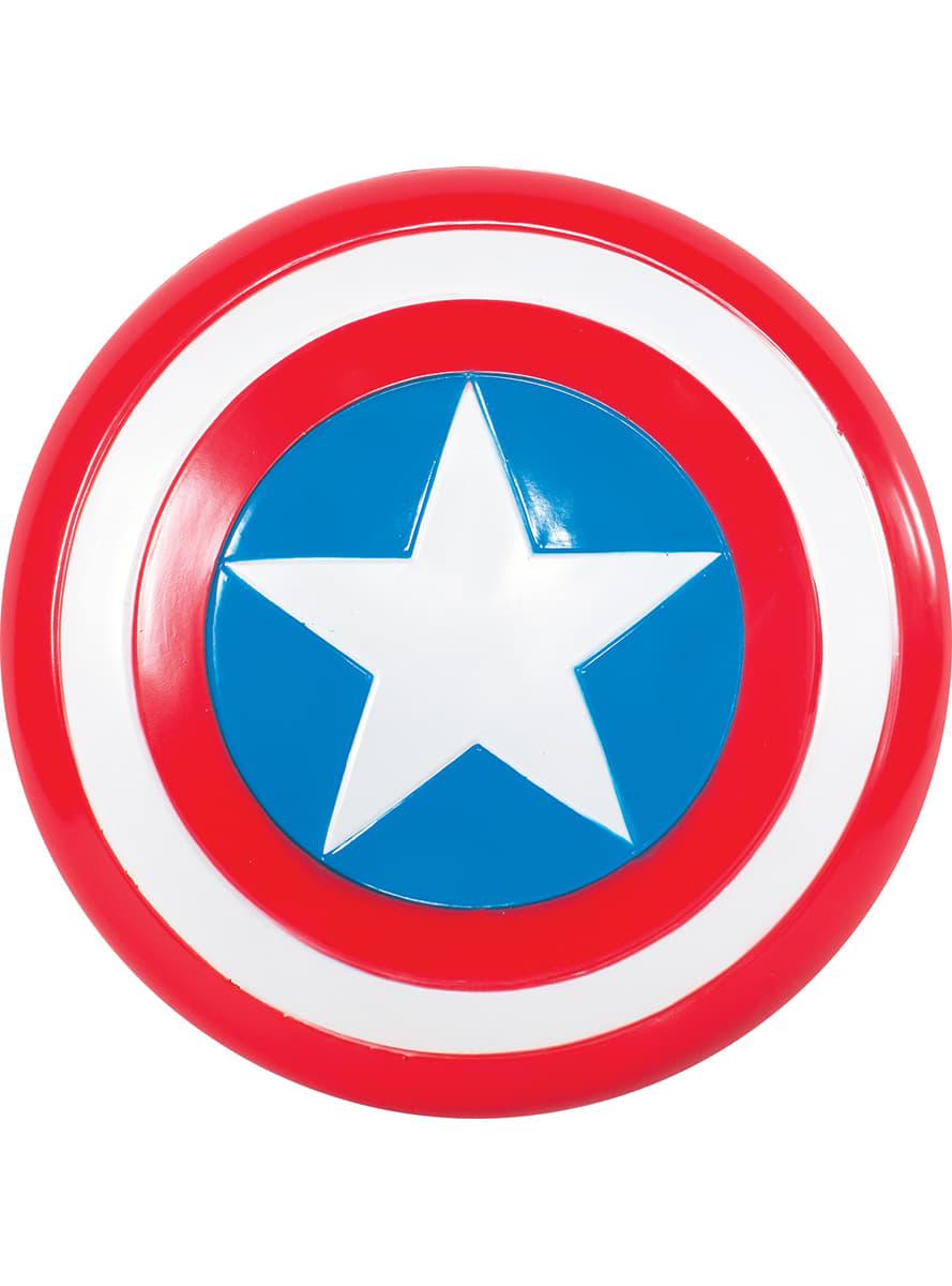 Escudo de Capitán América retro infantil disfraz | Funidelia