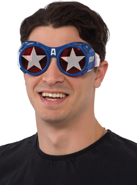 Gafas de Capitán América para hombre