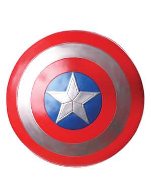 Escudo de Capitán América Soldado de invierno retro para hombre