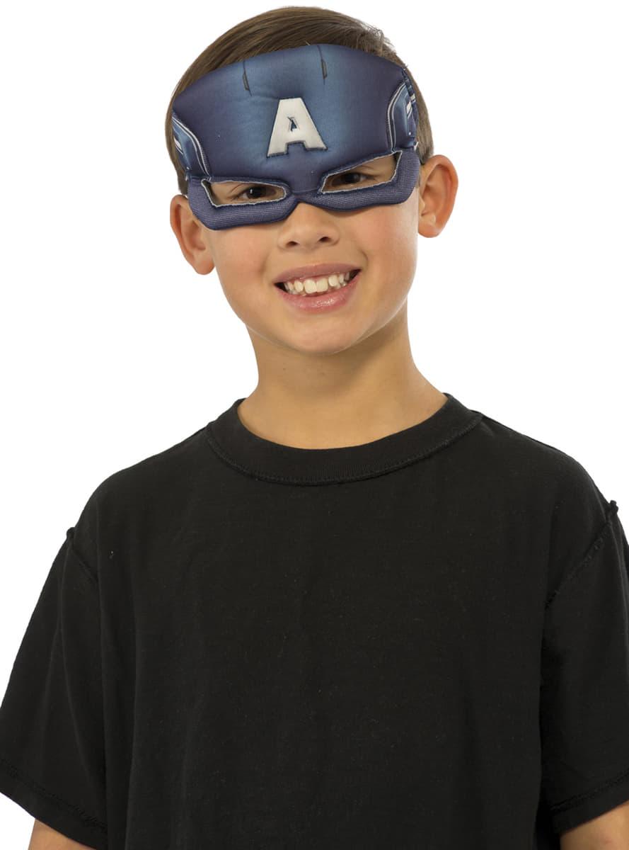 Masque captain america deluxe homme pour d guisement funidelia - Masque de captain america ...