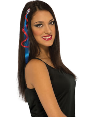 Captain America Hair Extension