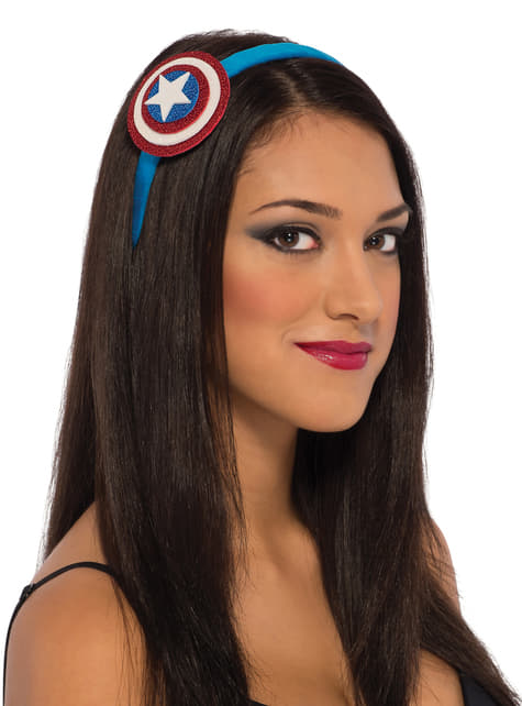 Women's Captain America Head Accessory