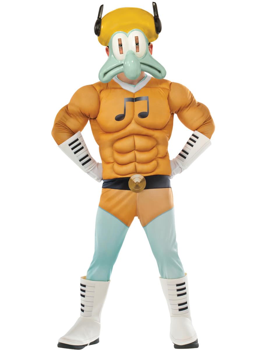 Costume carlo tentacule muscl bob l 39 eponge le film homme - Bob l eponge halloween ...