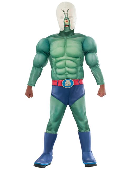 Disfraz de Plankton Bob Esponja la película musculoso para niño