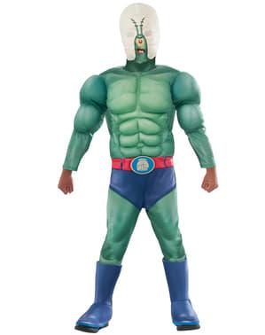 SvampeBob Firkant Plankton muskuløst kostume til mænd