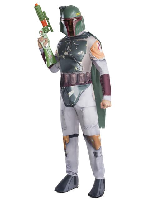 Disfraz de Boba Fett Star Wars para hombre